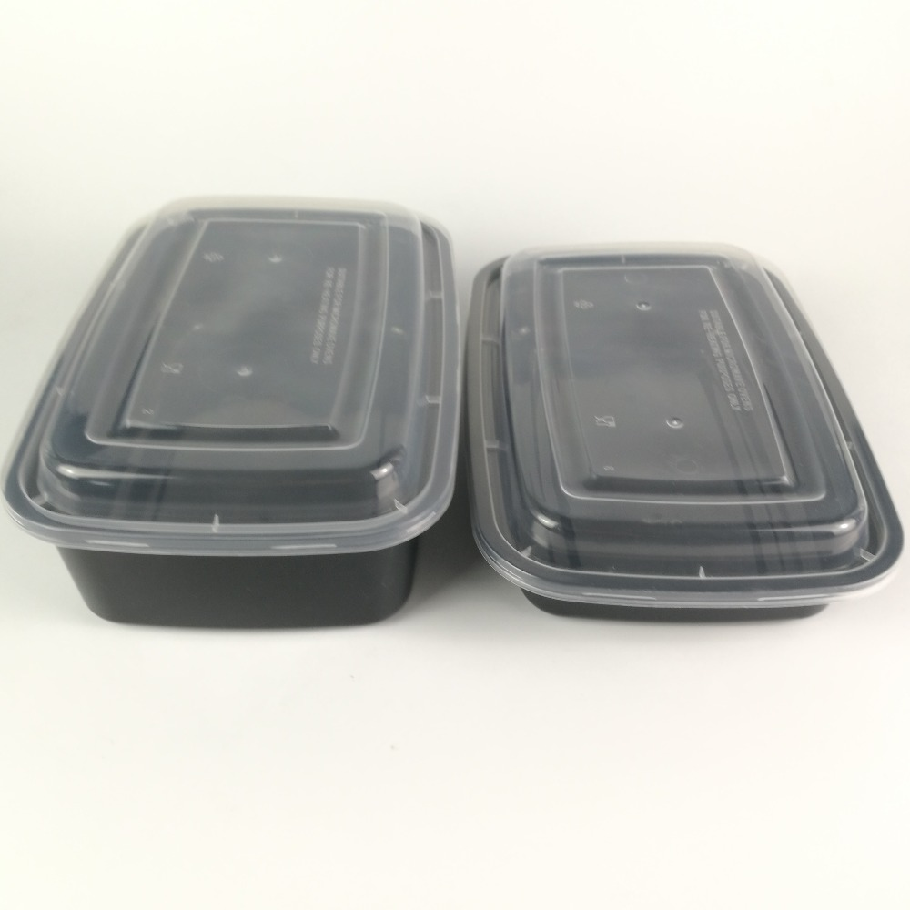 Chinese plastic translucent microwave food container disposable