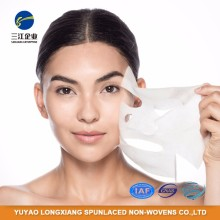 Economic Medical Spunlace Non Woven Raw Material Fabric Roll For Face Mask