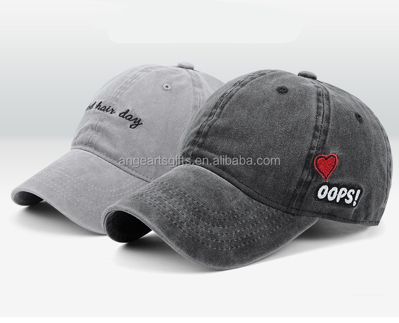 6 panel dad hats customized embroidered logo baseball caps and hats men cotton sports cap
