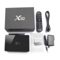 New arrival X92 S912 Android 6.0 Octa core S912 2GB 16GB tv box H.265,4K player preinstalled X92 S912 internet set top box