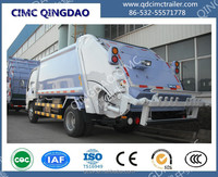CIMC brand garbage Compactor Compaction Truck semi trailer