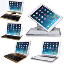 360 Rotating Protector Case bluetooth keyboard for iPad Air 2