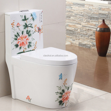 099C Alibaba hot selling best quality portable one piece siphonic toilet