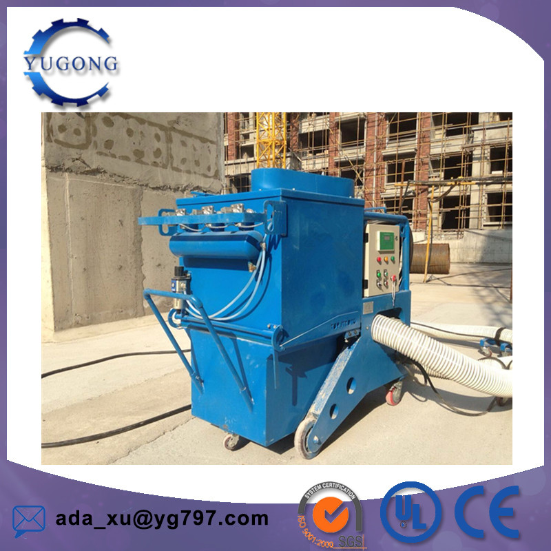 High performance asphalt pavement marker line cleaning machine