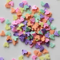 Hot Selling Mouse Shape Clay Colorful Sprinkles for Scrapbooking, Crafts Making DIY