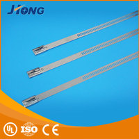 standard Cheap ss ladder type stainless steel cable tie with Multi Lock Type
