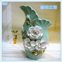 Colors are strinking small flower vase for home decoration or wedding decoration ceramic vase gift