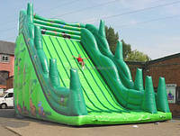 EN14960 inflatable commercial water slide for business sale