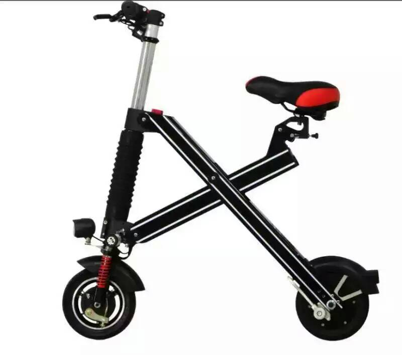 2016 chinese mini two wheels folding standing cheap lithium electric scooter for kids