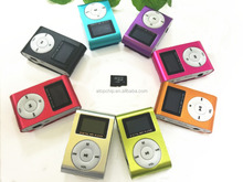 Cheap Factory Price Mini Mp3 Player With Screen Mp3 Support Sd Card