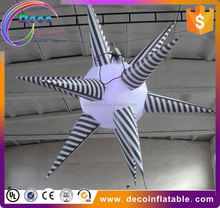 New Design Inflatable Gold Angel Star Celebrate