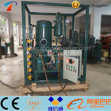 Powerful vacuum efficiency transformer oil purification and filtration device