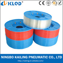 Polyurethane material blue color pneumatic pu air tube 8mm