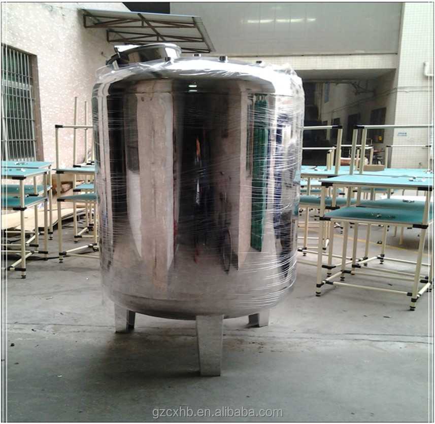 Never rust health level 10000 liter stainless steel water tank