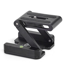 Folding Z Tripod Head Flexible Desktop Stand Holder Tripod Flex Pan