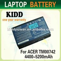 Replacement laptop battery for Acer Travelmate 5520/5310/5320 14.8V 4800mah