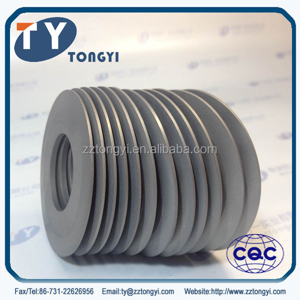 tungsten carbide disc for cutting parts