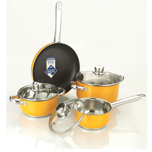Popular new design porcelain enamel cookware