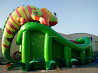 Top selling inflatable slides Inflatable 3D slide Inflatable high slide for kids