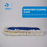 Disposable clean room cleaning tool microfiber easy mop