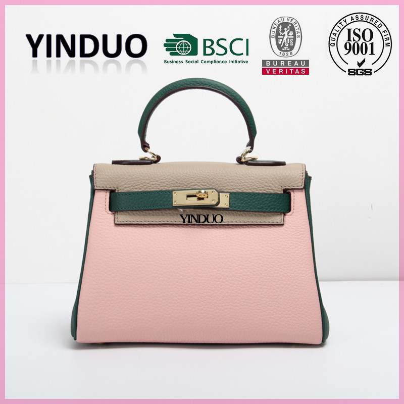 2016 Supplier Ready Made Stock Manufacturers China Leather Fashion Bag Ladies International Brands Designer <strong>Handbag</strong> At Low Price
