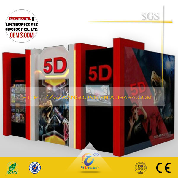 2015 newest and most popular dynamic cinema 3d 4d 5d movie on sale