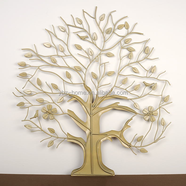 2014 Sebtember New Prodcut Metal Wall Decor Multicolor Money Tree