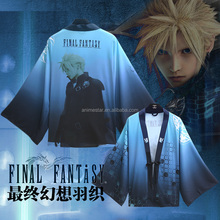 Final Fantasy Blue Cartoon Wholesale Cosplay Anime Costume