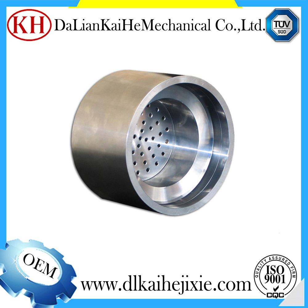 input shaft rotating device cnc part precision mechanical parts aluminum machining turning eccentric sleeve