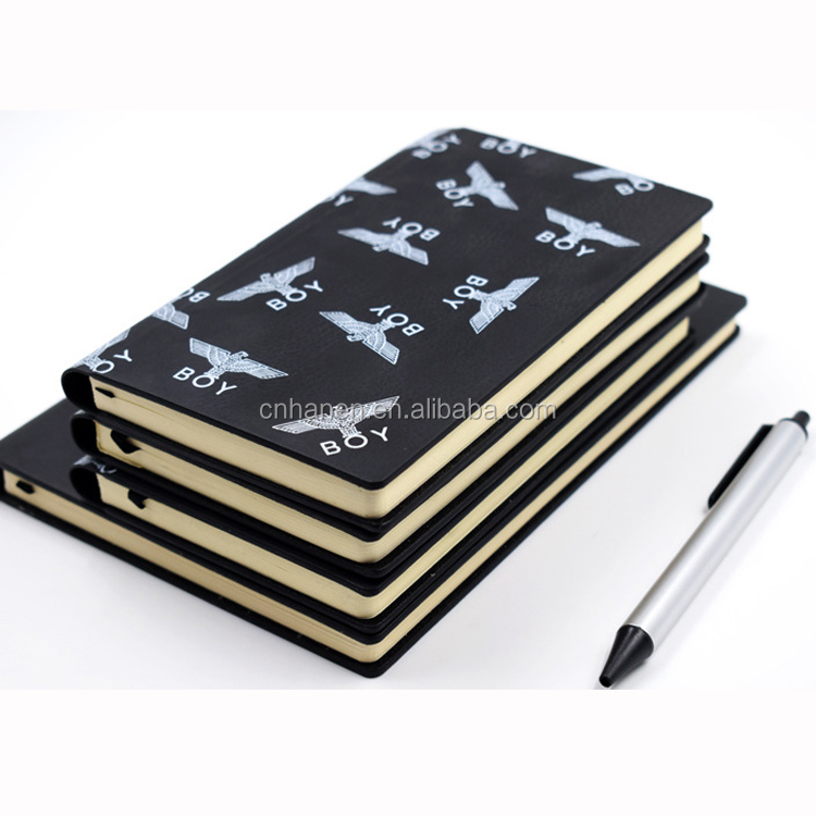 fashion big diaries business card notebook dotted journal paper