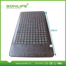 factory price heating infrared jade bed mat
