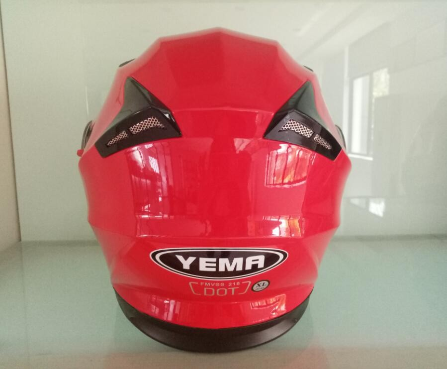 Casco para moto with ECE approved wholesale motorcycle accessories helmet full face lanxi yema personalized motorcycle helmets