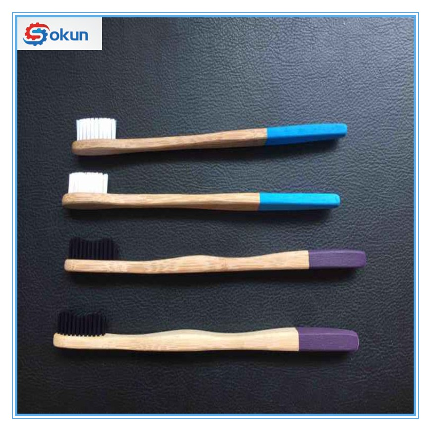 Natural bamboo charcoal home toothbrush