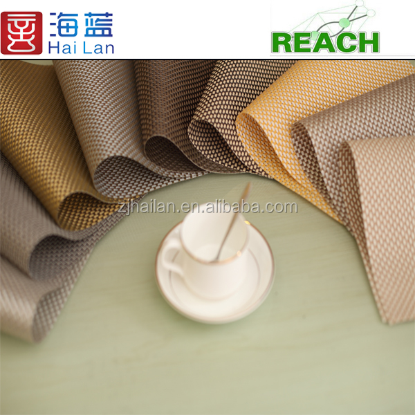 vinyl mesh fabric polyester mesh fabric dining table set