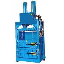 Cardboard baler vertical baler automatic baler/pet bottles baling machine for sale