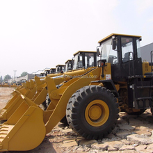 5ton LG wheel loader front wheel loader with weichai engine