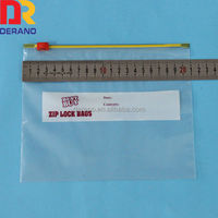 boxe packed ldpe slider bag ldpe ziplock bag oem service