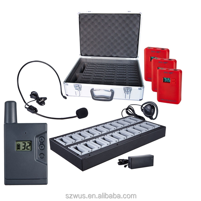 Good Quality Sound Equipment System ,Wireless Tour Guide System,tour guide headset device