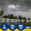 Ark Top Quality Good Price Long Lifespan Flatpack Prefabricated Steel Oil Field Shelter
