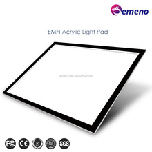 EMN high quality ultra slim acrylic led light graphic tablet