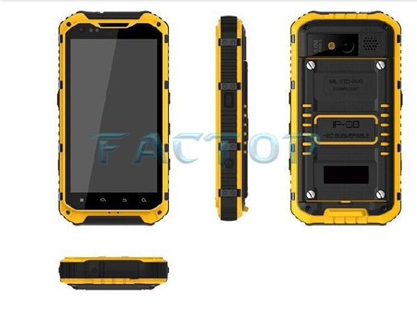 A9 MTK6589 quad core Android 4.3 original professional outdoor OEM mobile phone