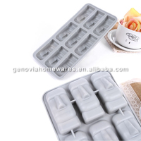 Professional direct factory made rose shape silicone ice tray made in China