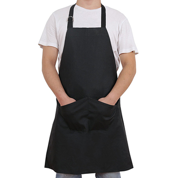 Bib Apron Chef Kitchen Apron Cotton Chef Apron