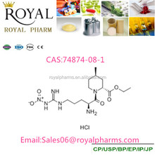 Ethyl (2R,4R)-1-(Nitroglycerine-nitro-L-arginyl)-4-methyl-piperidinecarboxylate hydrochloride CAS:74874-08-1 purity 99%