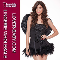 Hot-selling Adult and Woman Sexy Costumes Exotic Apparel Sexy Angel Costumes High Grade Costume for Halloween Wear