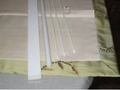 high strength light weight fiberglass roman blind rod