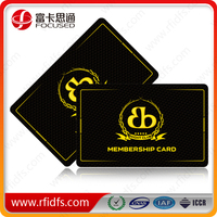 magnetic stripe rfid membership card for sale in shenzhen in 2015