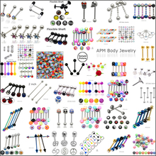 316L Surgical Steel Body Piercing Jewelry Tongue Piercing Tongue Barbell Wholesale