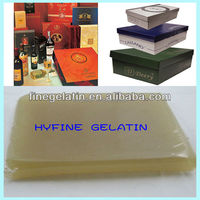 aniaml safe jelly glue/industrial jelly glue for shoe box,casemaking machine