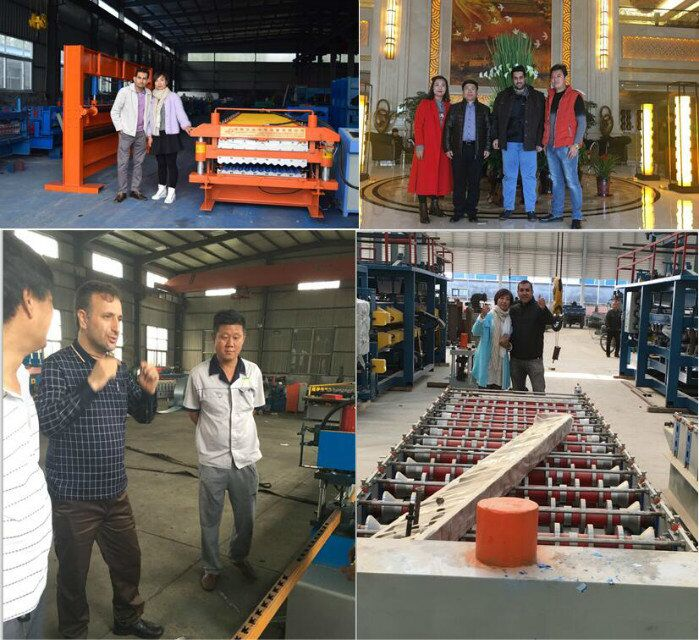 Supermarket Storage Rack Warehouse Shelf Rack Roll Forming Machine Supplier